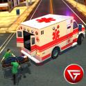 911 Cidade Ambulância 3D