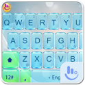 Bright Glass Keyboard Theme