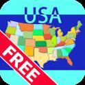 Mapa Paciência Free - USA