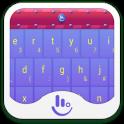 Qdesk Candy Purple Keyboard
