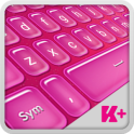 Keyboard Plus Hot Pink