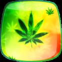 Marijuana Fond d'écran Animé
