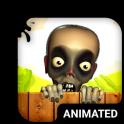 Zombie Animierte Tastatur