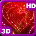 3D Sparkle Glitter Heart Free