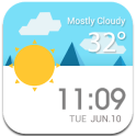 Daily Live Weather Widget εїз