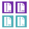 Rar Zip Tar 7Zip File Explorer, Private Vault