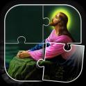 神 と イエス ジグソーパズル ゲーム