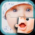 かわいい赤ちゃん ジグソーパズル ゲーム