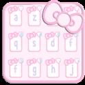 Cute baby Kitty pink keyboard