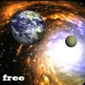 3D आकाशगंगा जीना वॉलपेपर