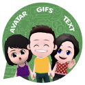 Your personal cartoon video - Gif app for whatsapp
