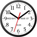 Analog Clock Widget Plus Size-7