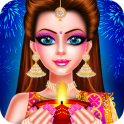 Indian Celebrity Fashion Doll Diwali Celebration