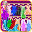 Mermaid Princess Chic Dress up