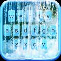 Waterfall Animated Keyboard + Live Wallpaper