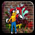 Street Graffiti Wall Theme