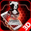 Nano Shining Cyborg Panda
