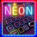 Sparkling Neon Lights Keyboard