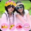 Flower Crown Photo Editor 2019 Girls photo Editor