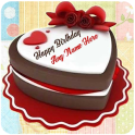 Write Name On Birthday Cake Photo