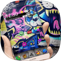 Graffiti Street Rock Theme