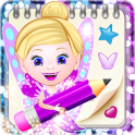 Glitter Notepad App