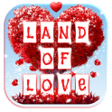 Land of Love Animated Keyboard + Live Wallpaper