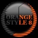 Orange Icon Pack Style 8 ✨Free✨