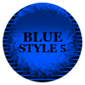Blue Icon Pack Style 5 ✨Free✨