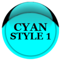 Cyan Icon Pack Style 1 ✨Free✨
