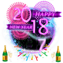3D Happy New Year Theme