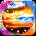 Art Clock Live Wallpaper