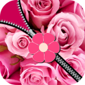 Pink Rose Zipper Screen