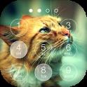 Cute Cat Keypad Lock Screen