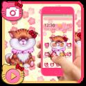 Pink Cute Kitty Theme