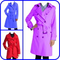 Woman Trench Coat Photo Suit Editor