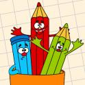 CFCross Link-a-Pix colored puzzles