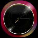 3D Black Clock