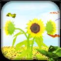 Sunflower 3D LiveWallpaper