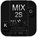 Stylish Black Keyboard For Xiaomi MIX 2S