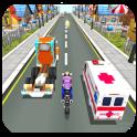 Moto rush traffic