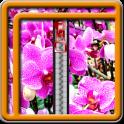 Zipper Lock Screen Orchid