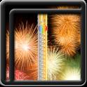 Zipper Lock Screen Fireworks