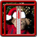 Zipper Lock Screen Christmas