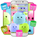 Cute Marshmallow Candy Theme