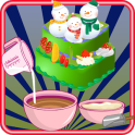 cooking games christmas cake