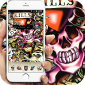 skull Street Graffiti theme