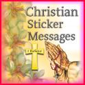 Christian Sticker Messages