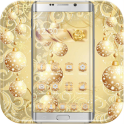 Gold Snow Ball Theme
