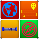 GPS Navigation Map Guide & GPS Compass Direction